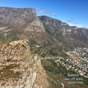 Lions Head Bottom Take Off