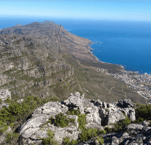 Table Mountain Side View